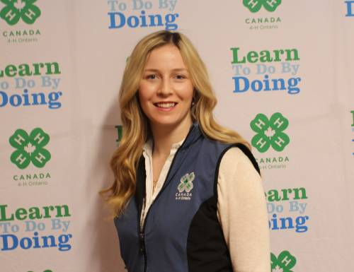 Laura Goulding, Coordinator, Communications, 4-H Ontario