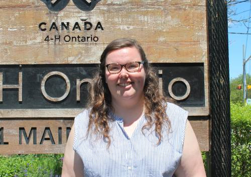 Stephanie Campbell, Coordinator, Volunteer Support – Region 5 & 6, 4-H Ontario