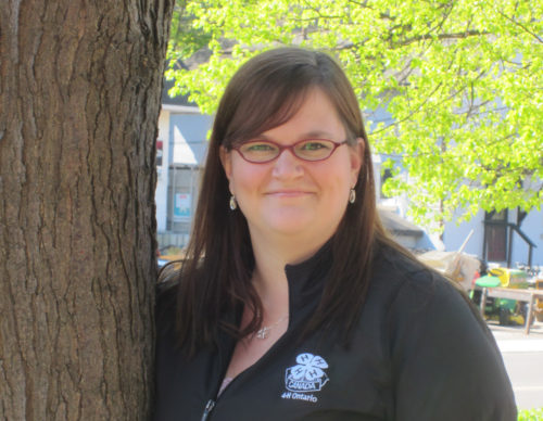 Megan Burnside-Poitras, Coordinator, Volunteer Support – Region 3, 4-H Ontario