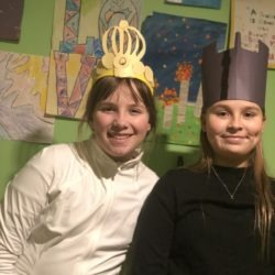 Members dressed as chess pieces