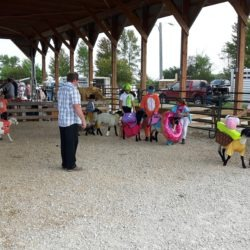 members and lambs dressed up in costume at the 2019 GNE