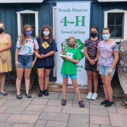 South Simcoe 4-H leaders and members