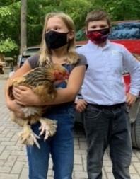 Cloverbud with a Brauma bird